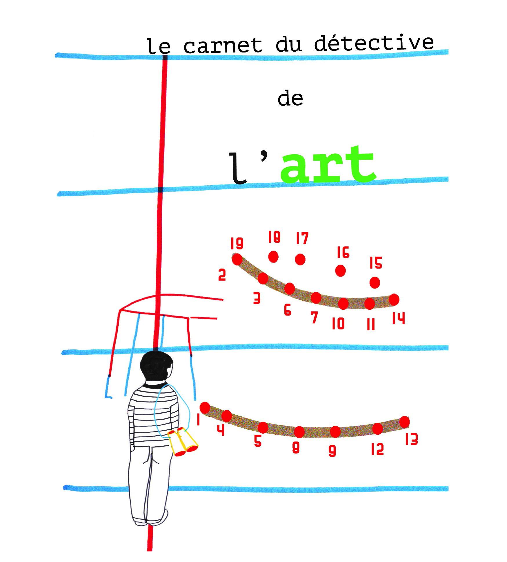 carnet du detective de lart visuel sans logos